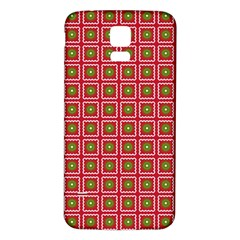 Christmas Paper Wrapping Samsung Galaxy S5 Back Case (White)