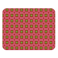 Christmas Paper Wrapping Double Sided Flano Blanket (Large)