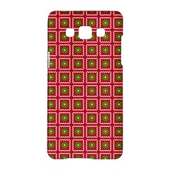 Christmas Paper Wrapping Samsung Galaxy A5 Hardshell Case