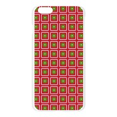 Christmas Paper Wrapping Apple Seamless iPhone 6 Plus/6S Plus Case (Transparent)