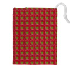 Christmas Paper Wrapping Drawstring Pouches (XXL)