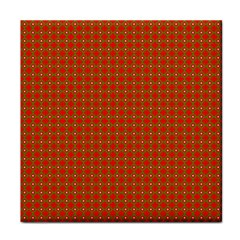 Christmas Paper Wrapping Paper Pattern Tile Coasters