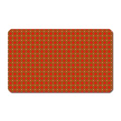 Christmas Paper Wrapping Paper Pattern Magnet (Rectangular)