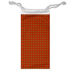 Christmas Paper Wrapping Paper Pattern Jewelry Bag