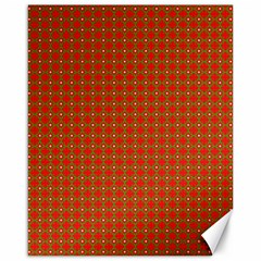 Christmas Paper Wrapping Paper Pattern Canvas 16  x 20