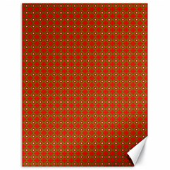 Christmas Paper Wrapping Paper Pattern Canvas 18  x 24