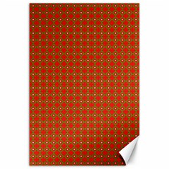 Christmas Paper Wrapping Paper Pattern Canvas 20  x 30