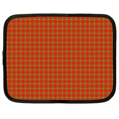 Christmas Paper Wrapping Paper Pattern Netbook Case (XXL)