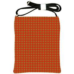 Christmas Paper Wrapping Paper Pattern Shoulder Sling Bags