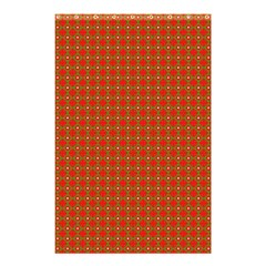 Christmas Paper Wrapping Paper Pattern Shower Curtain 48  x 72  (Small)