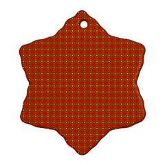 Christmas Paper Wrapping Paper Pattern Ornament (Snowflake)
