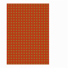 Christmas Paper Wrapping Paper Pattern Small Garden Flag (two Sides)