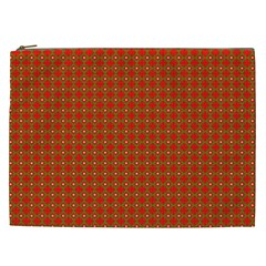 Christmas Paper Wrapping Paper Pattern Cosmetic Bag (xxl)