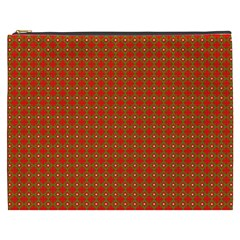 Christmas Paper Wrapping Paper Pattern Cosmetic Bag (XXXL)