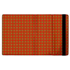 Christmas Paper Wrapping Paper Pattern Apple Ipad 3/4 Flip Case