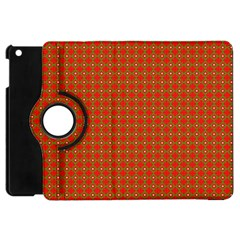 Christmas Paper Wrapping Paper Pattern Apple Ipad Mini Flip 360 Case