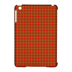Christmas Paper Wrapping Paper Pattern Apple iPad Mini Hardshell Case (Compatible with Smart Cover)