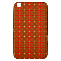 Christmas Paper Wrapping Paper Pattern Samsung Galaxy Tab 3 (8 ) T3100 Hardshell Case