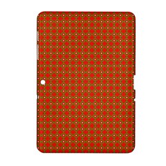 Christmas Paper Wrapping Paper Pattern Samsung Galaxy Tab 2 (10.1 ) P5100 Hardshell Case