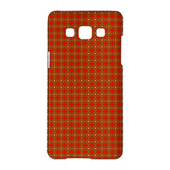 Christmas Paper Wrapping Paper Pattern Samsung Galaxy A5 Hardshell Case