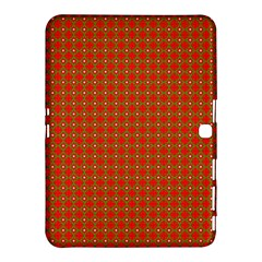 Christmas Paper Wrapping Paper Pattern Samsung Galaxy Tab 4 (10.1 ) Hardshell Case