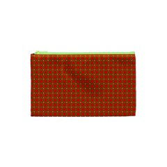 Christmas Paper Wrapping Paper Pattern Cosmetic Bag (XS)