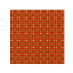 Christmas Paper Wrapping Paper Pattern Small Satin Scarf (square)