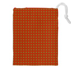 Christmas Paper Wrapping Paper Pattern Drawstring Pouches (XXL)