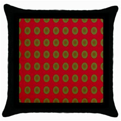 Christmas Paper Wrapping Paper Throw Pillow Case (black)