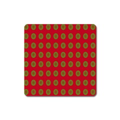Christmas Paper Wrapping Paper Square Magnet