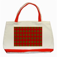 Christmas Paper Wrapping Paper Classic Tote Bag (Red)