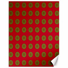 Christmas Paper Wrapping Paper Canvas 18  x 24