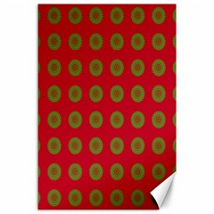 Christmas Paper Wrapping Paper Canvas 24  x 36