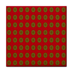 Christmas Paper Wrapping Paper Face Towel