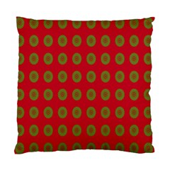 Christmas Paper Wrapping Paper Standard Cushion Case (Two Sides)