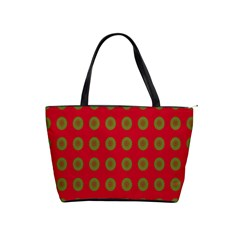 Christmas Paper Wrapping Paper Shoulder Handbags