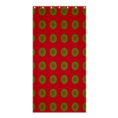 Christmas Paper Wrapping Paper Shower Curtain 36  x 72  (Stall)