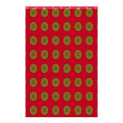 Christmas Paper Wrapping Paper Shower Curtain 48  x 72  (Small)