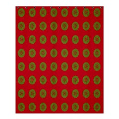 Christmas Paper Wrapping Paper Shower Curtain 60  x 72  (Medium)