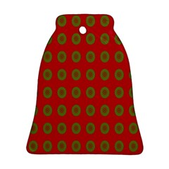 Christmas Paper Wrapping Paper Ornament (Bell)