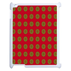 Christmas Paper Wrapping Paper Apple iPad 2 Case (White)