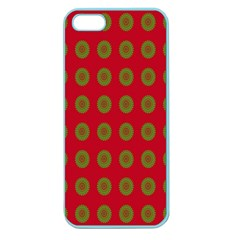 Christmas Paper Wrapping Paper Apple Seamless iPhone 5 Case (Color)