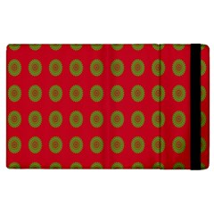Christmas Paper Wrapping Paper Apple iPad 3/4 Flip Case