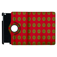 Christmas Paper Wrapping Paper Apple iPad 2 Flip 360 Case