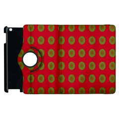 Christmas Paper Wrapping Paper Apple Ipad 3/4 Flip 360 Case