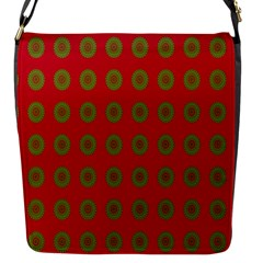 Christmas Paper Wrapping Paper Flap Messenger Bag (S)