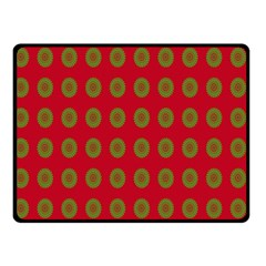Christmas Paper Wrapping Paper Double Sided Fleece Blanket (small)