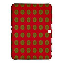 Christmas Paper Wrapping Paper Samsung Galaxy Tab 4 (10.1 ) Hardshell Case