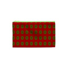 Christmas Paper Wrapping Paper Cosmetic Bag (XS)