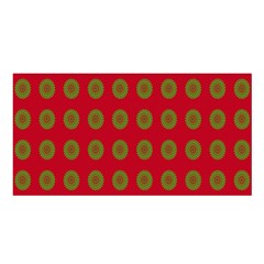Christmas Paper Wrapping Paper Satin Shawl
